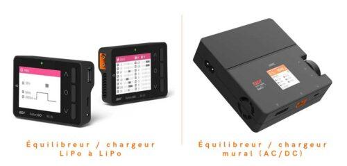 comparaison chargeur batterie LiPo