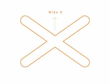 forme châssis drone fpv wide x