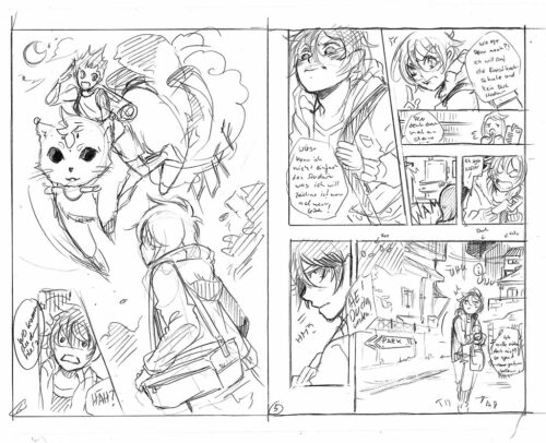 storyboard de manga