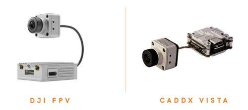 caddx vista et système dji FPV