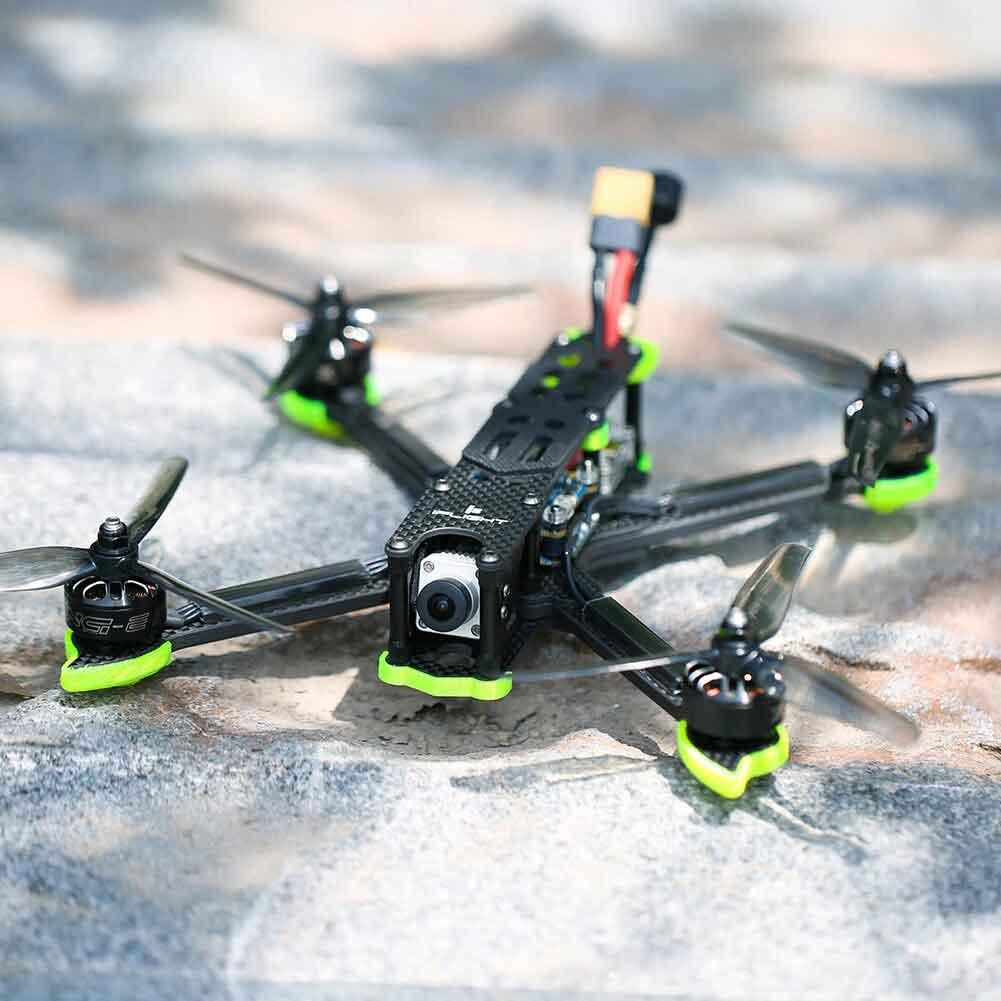Drone cinématique iflight nazgul 5 v2 équipé du système DJI FPV