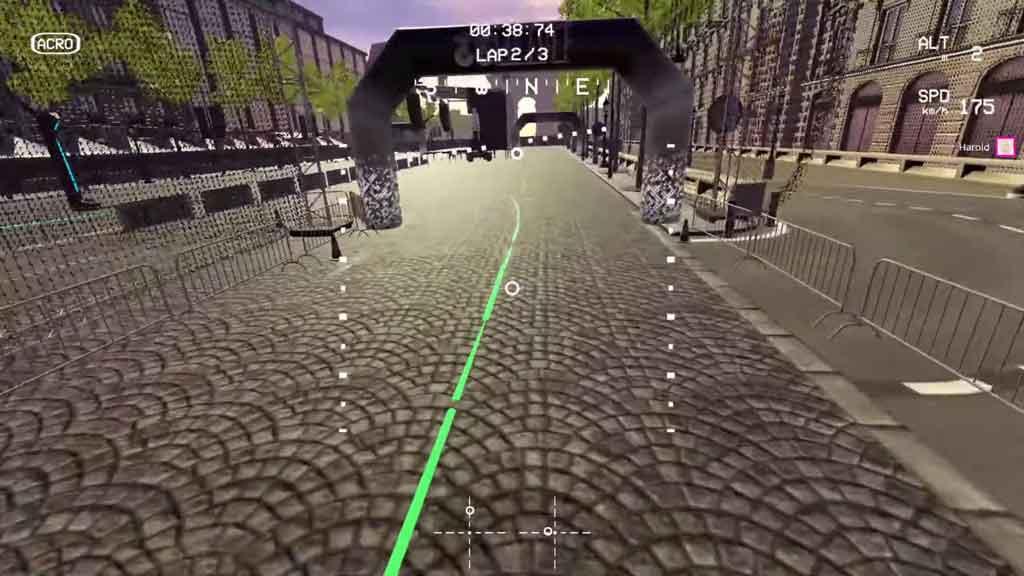 simulateur drone fpv lifthoff