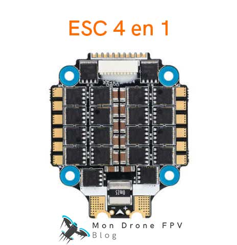 ESC 4 en 1 Hobbywing XRotor Micro